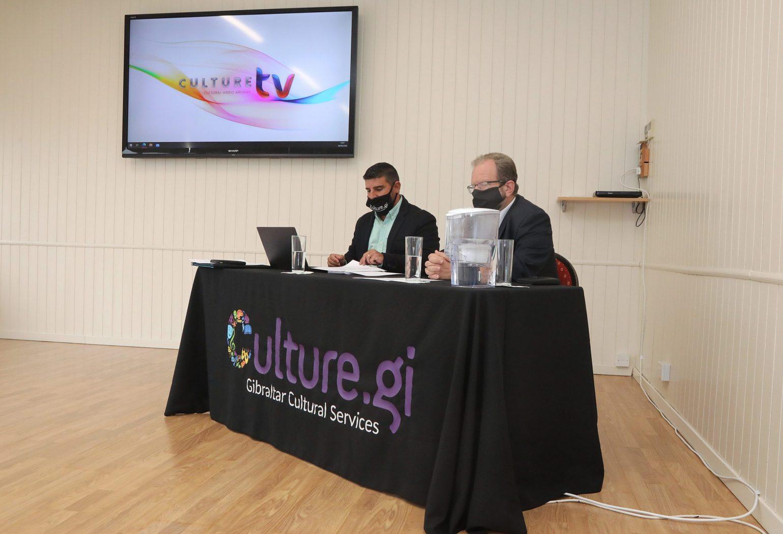 Seamus & Minister Culture TV Image