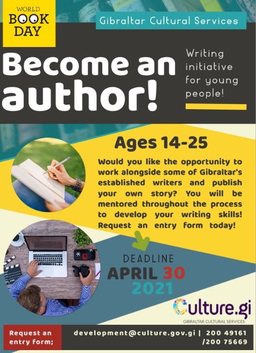 Become an Author Poster Image