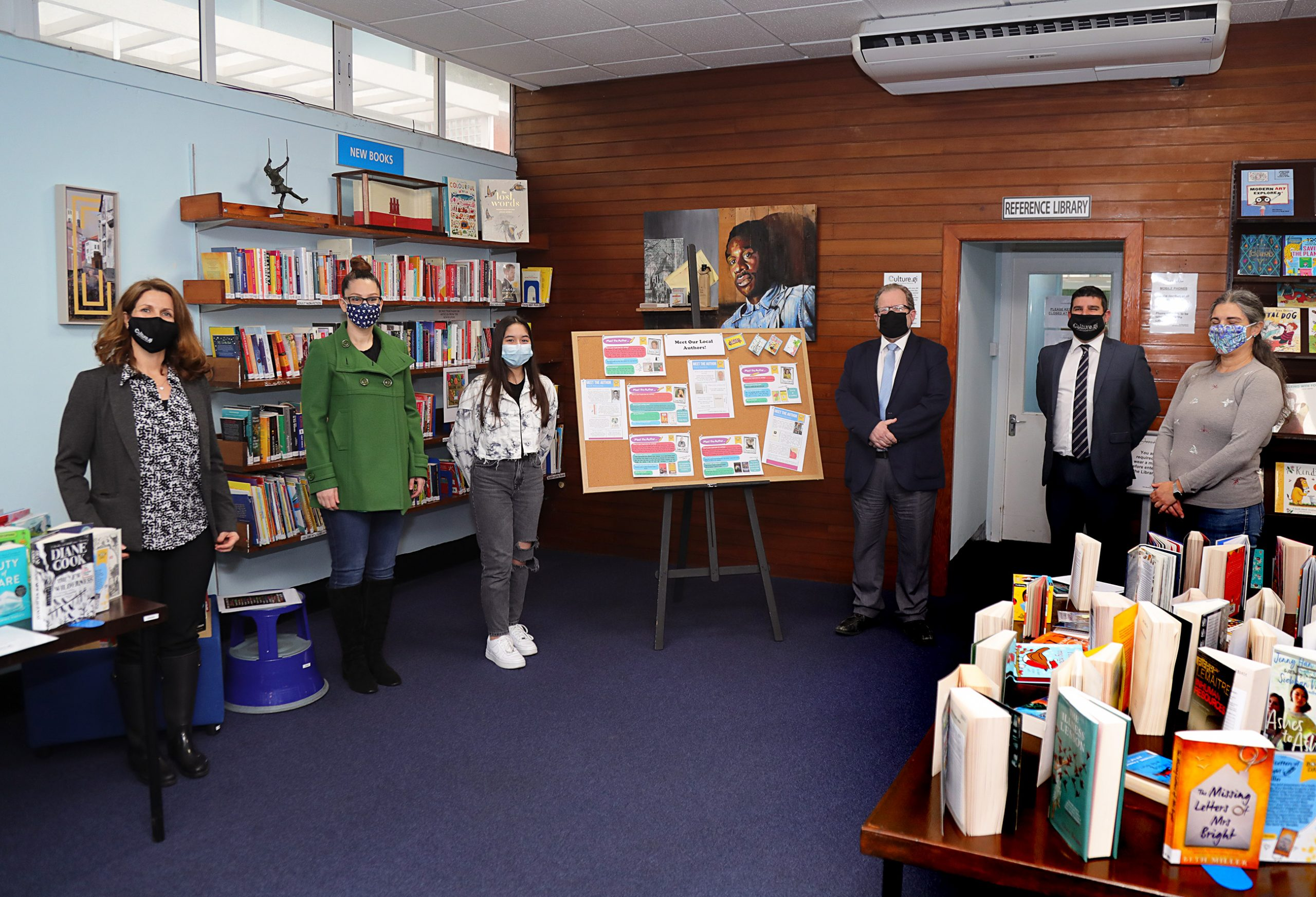Library card design competition winners presentation Image
