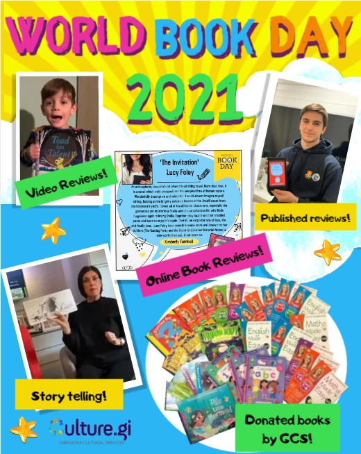 Image of World Book Day 2021 Poster